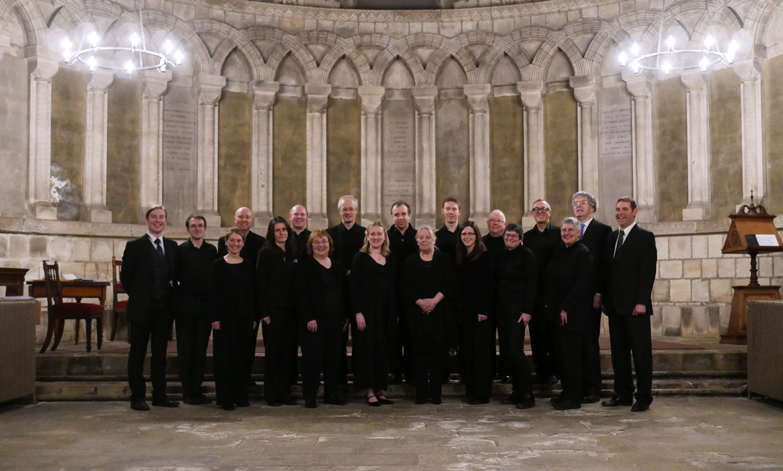 The Singers in Durham Cathedral