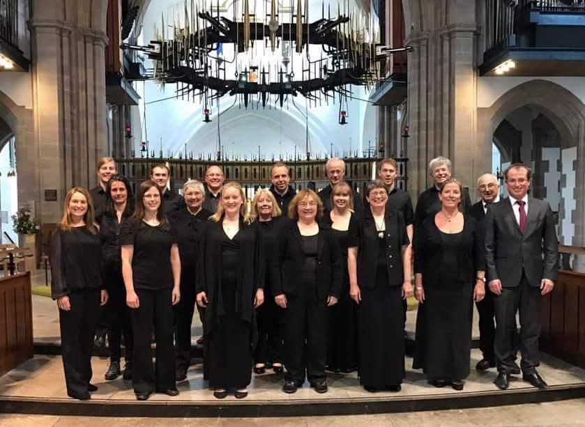 The Singers in Blackburn Cathedra;