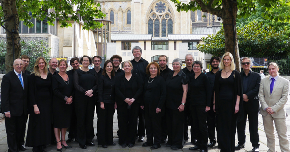 The Singers at Southwark Cathedral 2014